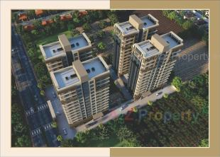Elevation of real estate project Sankalp Shivanta located at Dabholi, Surat, Gujarat