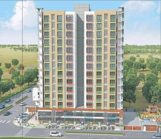 Elevation of real estate project Sat Aria located at Bhatha, Surat, Gujarat
