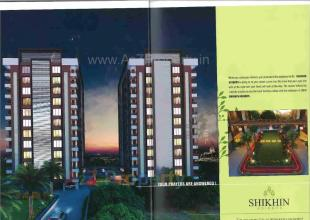 Elevation of real estate project Shikhin Heights located at Bhimrad, Surat, Gujarat