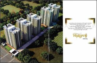 Elevation of real estate project Shikshapatri Heights located at Kosad, Surat, Gujarat