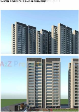 Elevation of real estate project Shiven Florenza located at Palanpur, Surat, Gujarat
