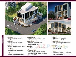Elevation of real estate project Shree Market located at Puna, Surat, Gujarat