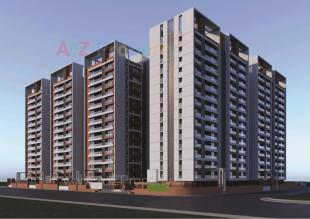 Elevation of real estate project Shreepad Park Arena located at Pal, Surat, Gujarat