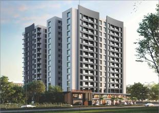 Elevation of real estate project Shrungal Solitaire located at Bamroli, Surat, Gujarat