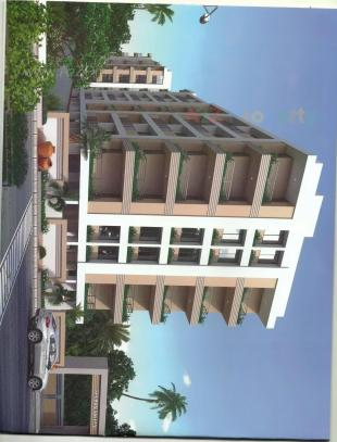 Elevation of real estate project Shukan Valley located at Kosad, Surat, Gujarat