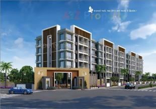 Elevation of real estate project Shyam Residency located at Saniya, Surat, Gujarat
