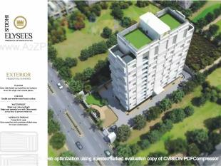Elevation of real estate project Siddhi Elysees located at Bhimrad, Surat, Gujarat