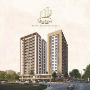 Elevation of real estate project Silvassa Twin Tower located at Surat, Surat, Gujarat