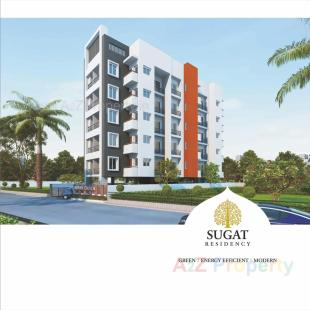 Elevation of real estate project Sugat Residency located at Bhatha, Surat, Gujarat