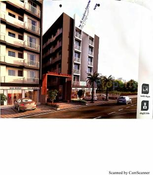 Elevation of real estate project Sumukh Residency located at Dindoli, Surat, Gujarat