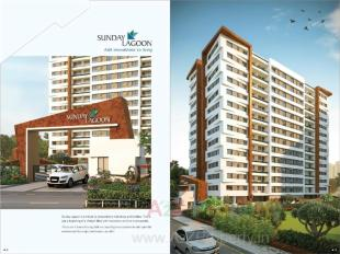 Elevation of real estate project Sunday Lagoon located at Devadh, Surat, Gujarat