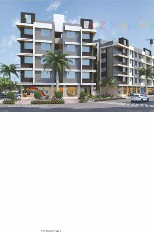 Elevation of real estate project Sunday Residency  located at Surat, Surat, Gujarat