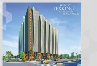 Elevation of real estate project Swagat Texking located at Surat, Surat, Gujarat
