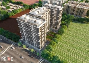 Elevation of real estate project Swastik Pride located at Kosad, Surat, Gujarat