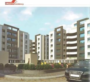 Elevation of real estate project Swastik Residency located at Dindoli, Surat, Gujarat