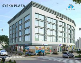 Elevation of real estate project Syska Plaza located at Surat, Surat, Gujarat