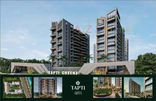 Elevation of real estate project Tapti Greenz located at Varachha, Surat, Gujarat
