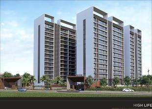 Elevation of real estate project The Majestic located at Althan, Surat, Gujarat