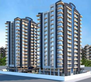 Elevation of real estate project The Status located at Rander, Surat, Gujarat