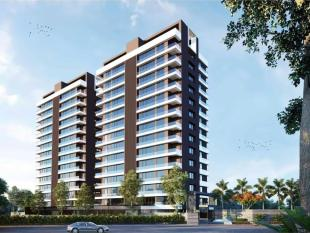 Elevation of real estate project Torrance located at Vesu, Surat, Gujarat