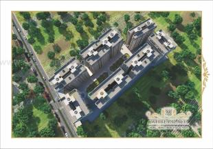 Elevation of real estate project White Palace located at Variav, Surat, Gujarat