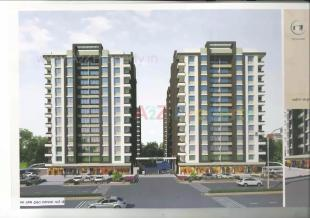 Elevation of real estate project Yogi Hieghts located at Puna, Surat, Gujarat