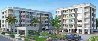 Elevation of real estate project Aaditya Residency 2 located at Gotri, Vadodara, Gujarat
