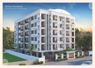 Elevation of real estate project Aaradhya Heritage located at Sama, Vadodara, Gujarat