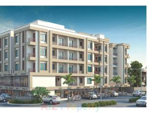 Elevation of real estate project Aaradhya Sunshine located at Sama, Vadodara, Gujarat