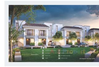 Elevation of real estate project Aarya Elite Phase - I located at Kalali, Vadodara, Gujarat