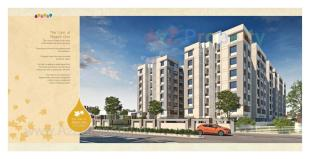Elevation of real estate project Aastha Vatika located at Tandalaja, Vadodara, Gujarat