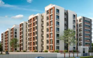 Elevation of real estate project Aavkar Avalon located at Bhayali, Vadodara, Gujarat