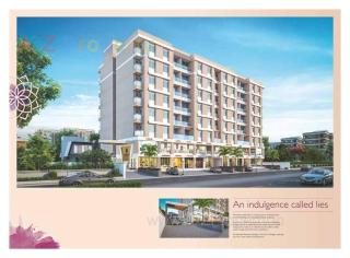 Elevation of real estate project Abhishek Alyssum located at Sama, Vadodara, Gujarat