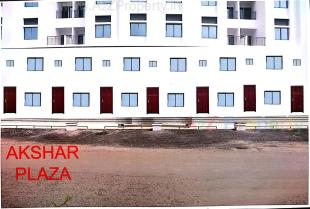 Elevation of real estate project Akshar Plaza located at Atladara, Vadodara, Gujarat