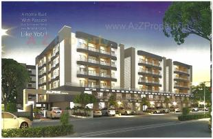 Elevation of real estate project Alpine Heights located at Atladara, Vadodara, Gujarat