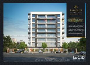 Elevation of real estate project Amadius Elite located at Sevasi, Vadodara, Gujarat