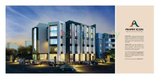 Elevation of real estate project Amar Icon located at Chhani, Vadodara, Gujarat