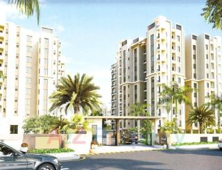 Elevation of real estate project Anand Garden located at Gotri, Vadodara, Gujarat