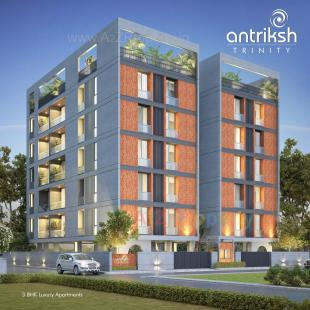Elevation of real estate project Antriksh Trinity located at Vadodara, Vadodara, Gujarat