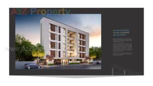 Elevation of real estate project Aries Upscale located at Wadiwadi, Vadodara, Gujarat