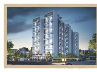 Elevation of real estate project Atharva located at Bhayli, Vadodara, Gujarat