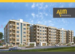 Elevation of real estate project Aum Residency located at Vadsar, Vadodara, Gujarat
