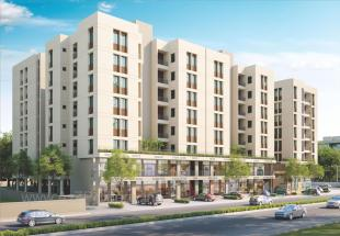 Elevation of real estate project Auro Prime located at Bill, Vadodara, Gujarat