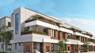 Elevation of real estate project Auroville located at Kalali, Vadodara, Gujarat