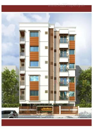 Elevation of real estate project Avadhoot Residency located at Vadodara, Vadodara, Gujarat