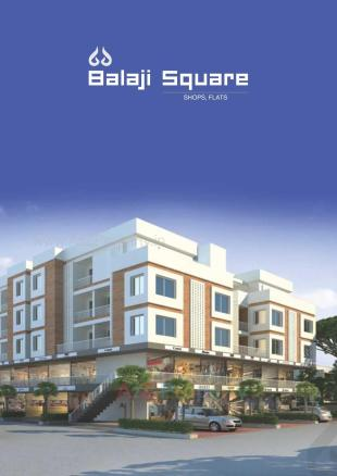Elevation of real estate project Balaji Square located at Vasna, Vadodara, Gujarat