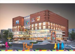 Elevation of real estate project Baroda City Mall located at Manjalpur, Vadodara, Gujarat