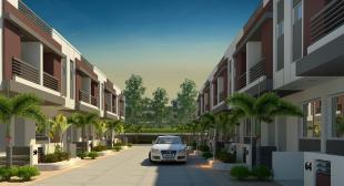 Elevation of real estate project Bhumi Residency located at Maneja, Vadodara, Gujarat