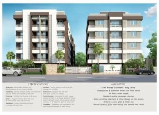 Elevation of real estate project Central Park located at Vadodara, Vadodara, Gujarat