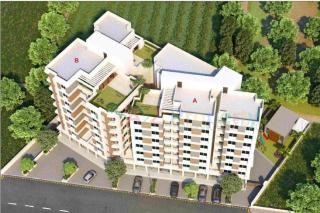 Elevation of real estate project Coral Pride located at Gotri, Vadodara, Gujarat